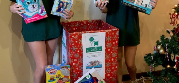 Ava Satel and Brittin McBirnie Co-chair 1st Annual Toy Collection Drive holidays 2019